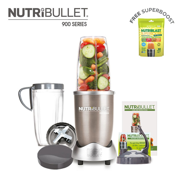 *Local Warranty 100% Authentic* NutriBullet Pro NB900 NB600 Mixer Juicer BPA-FREE Deals for only S$199 instead of S$0