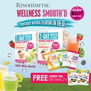 Kinohimitsu 2-Day SpeedCleansing 12s x 2 | 100% Natural Juice Cleanse[Slim Beauty Health in 1box]