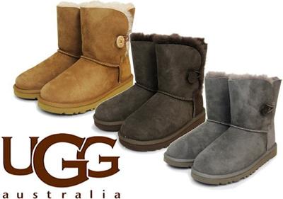 (A倉庫)UGG Australia 5991 K BAILEY BUTTON アグ オーストラリア 海外正規品 キッズ ベイリーボタン 子供ブーツ ムートンブーツ 送料無料の画像
