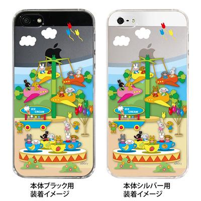 【iPhone5S】【iPhone5】【NAGI】【iPhone5ケース】【カバー】【スマホケース】【クリアケース】【アニマル】【飛行機】 24-ip5-ng0019の画像
