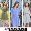 ♣ New Arrival Short Sleeve Korea Dress ♣ lace/printing/check/stripe/dot/long/Maxi/women fashion
