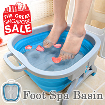 ★Multipurpose Foot Spa Basin★Foot Bath/Foot Reflexology/Massage/Massager/Storage/Father and Mother day gift /Singapore Seller