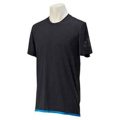 アディダス(adidas) M CLIMACHILL ショートスリーブ Tシャツ 2 GYT10 S26994 チルBLKメランジ/チルブルー 【メンズ トレーニングウェア 半袖】の画像