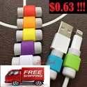 FREE SHIPPING ** Apple / iPhone 5 / 5S / 5C / iPhone 6 / 6plus / iPad / iPad Air /  iPhone Cable Protector / iPhone cable / Lightning Cable / 8 pin / iPhone Cord Protector / Lightning guard / iSaver
