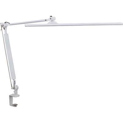 オーム電機LEDタッチ式調光アームライトホワイトOAL-LK55-W