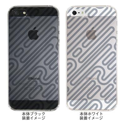 【iPhone5S】【iPhone5】【Clear Arts】【iPhone5ケース】【カバー】【スマホケース】【クリアケース】【チェック・ボーダー・ドット】【パイプ】 ip5-06ca0021sの画像