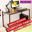 Simple Modern Computer Table/Save Space Office Table/Office Desk/Student Study Desk/Laptop Table/Computer Desk/Coffee Table/Side Table/Compact Work Station
