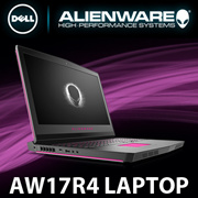 ALIENWARE 17 Series R4 670118G Gaming Laptop / Intel i7 6th Gen / Windows 10 / Nvidia Geforce GTX 1070 / 16GB RAM / Local Warranty