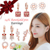★All Flat Price★GIFT EVENT★Christmas gifts for her★[14K GOLD-PIN EARRINGS]Allergy_Minimize/Anniversary Gifts/Accessories/Jewelry/BestSeller/Admission/graduation/KOREA/singapore