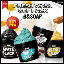 FRESH MASK Wash Off Mask Pack / Sebum Care / Remove Debris Keratin / Pore Care / Calm Skin / BSOAP