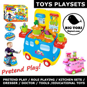 TOY SETS for Pretend Play / Role Play ( Kitchen Beauty Cooking) mobile playsets