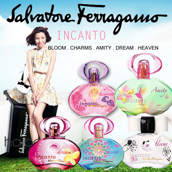 Salvatore Ferragamo Perfume INCANTO Amity Charm / EMOZIONE / SHINE Tester Packaging Deals for only S$49.9 instead of S$0