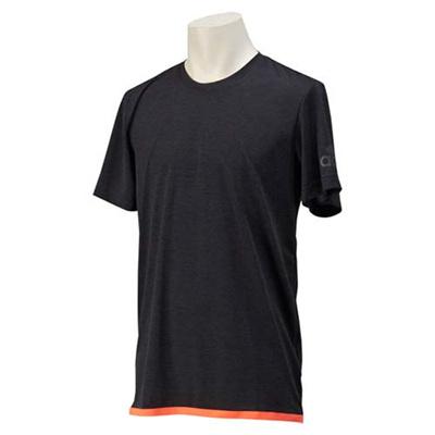 アディダス(adidas) M CLIMACHILL ショートスリーブ Tシャツ 2 GYT10 S26995 チルBLKメランジ/ソーラーレッド 【メンズ トレーニングウェア 半袖】の画像