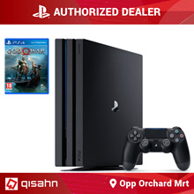 PS4 Playstation 4 Pro Console // Standalone Bundle // GoW Bundle