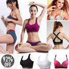 *Restock* ♥Hot Sale Lady Sports Bra♥ No Rims Super Gathered Sport Bra Seamless Yoga Top Natural Comfortable Bust Up genie push up extender sleeping seamless sport bra automatic watch