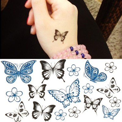 Как сделать tattoo stickers