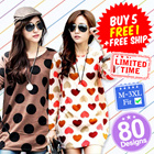 ♥ LuvClo ~ Best Seller Korean Oversize Long Sleeve Top (100 Design)