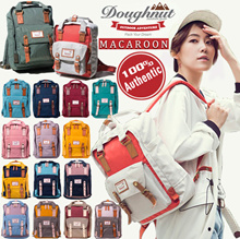 【BUY 2 FREE SHIPPING】100% AUTHENTIC★HK Original Doughnut Macaroon Backpack❤Travel bag