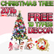 1.5m Full Size Christmas Tree - FREE 10 TYPES DECOR AND LIGHTING - (Immediate Stocks In SINGAPORE) Complete Your Christmas With an Xmas Tree