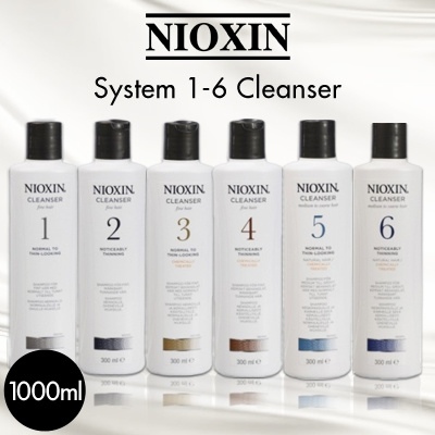 [BUY 2 FREE SHIPPING] System 1-6 Cleanser For Fine Hair Noticeably Thinning Hair 1000ml/33.8oz Deals for only S$89.9 instead of S$0