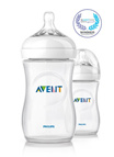 [In Stock] Philips Avent BPA Free Natural Polypropylene Bottle 9 Ounce/260 ml 2 Count