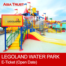 [Holiday Special] LEGOLAND Malaysia Water Park / ETICKET / Open date 新山乐高水上乐园门票