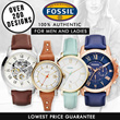 Fossil Watch  For Men  Women! Over 200 Design