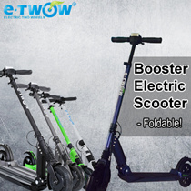 E-TWOW Booster Electric Scooter (33V 6.5Ah)/Foldable electric scooter (patented) in 3 easy steps/Ava