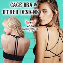 (2017 Sales)*[SweetangelShop]*Trusted No.1 Cage Bra SG Seller*All in Stock*Premium Cage Bra/Bralette