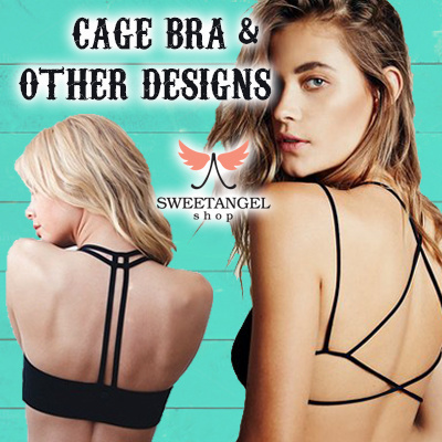 (2017 Sales)*[SweetangelShop]*Trusted No.1 Cage Bra SG Seller*All in Stock*Premium Cage Bra/Bralette Deals for only S$25 instead of S$0