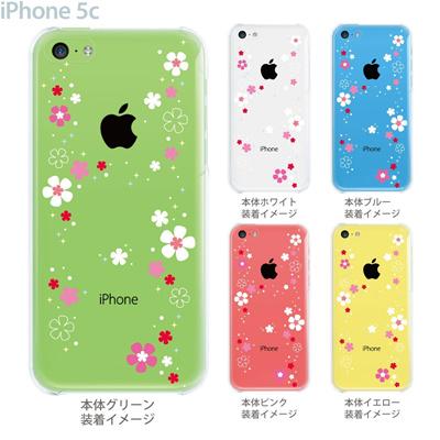 【iPhone5c】【iPhone5c ケース】【iPhone5c カバー】【ケース】【カバー】【スマホケース】【クリアケース】【クリアーアーツ】【花雪】 09-ip5c-sn0002の画像