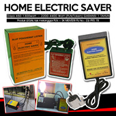 HOME ELECTRIC SAVER -PENGHEMAT LISTRIK U/ Daya 450-1300watt ~ 2200-4400 Watt (PLN/Token) GARANSI 1 TAHUN | Produk LEGAL tak melanggar PLN ~ SK MENTERI PU No.: 23/ PRT/ 78