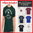 NEW ARRIVALS [Abercrombie n Fitch] for MEN 100% genuine ★ Free Shipping ★ HOT SALE ★ Vintage Short Sleeve T-Shirts ★
