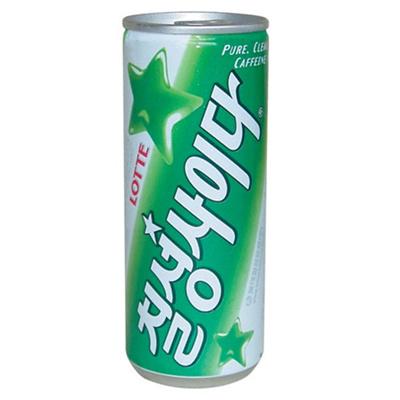 【韓国飲料】チルソンサイダー250ml[カン][1BOX30個入=1個63円]★の画像