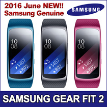 ★ ONLY 1DAY SUPER DEAL!★ Samsung Gear Fit 2 ★ Samsung Smart Watch / GPS Sports Band / Tracking Smart / Fitness Band / Large and Small Size / Black Blue Pink Colours ★