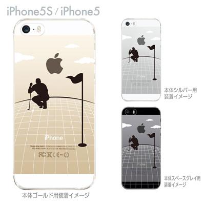 【iPhone5S】【iPhone5】【Clear Arts】【iPhone5ケース】【カバー】【スマホケース】【クリアケース】【クリアーアーツ】【ゴルフ】 10-ip5-ca0075の画像