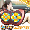 New Upgrade Version/You deserve it!▶Intelligent Vehicle-Mounted Massager-Can use at home◀GDD GDE-Neck Massager/ Waist Massage/ Relax Whole Body/ Massage Pillow/ Free Gift