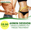 [Beauty Perfect] $9.90  Slimming Fat and Freeze Treatment for Both Male and Female   Located conveniently at Toa Payoh Central! Try it now!