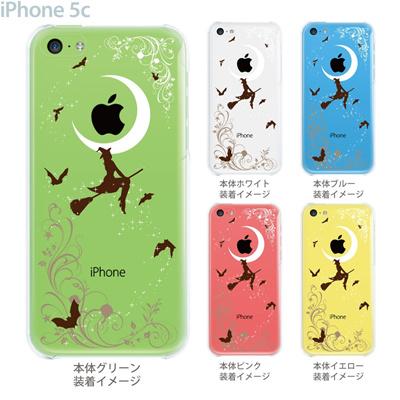 【iPhone5c】【iPhone5c ケース】【iPhone5c カバー】【iPhone】【クリア ケース】【カバー】【スマホケース】【クリアケース】【イラスト】【クリアーアーツ】【魔女】 09-ip5c-th0001の画像