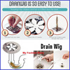 [DRAINWIG] * Buy 1 get 1 Free * Clog Removal Stick * Shower Drain Hair Catcher * Never Clogged Drain