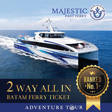 Batam Ferry Ticket - 2 Way SG/BATAM All Tax Included. (Receive E-BOARDING Immediately)