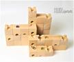 HUIZorbit(standard) ビー玉転がし 積み木 3Dパズル 知育玩具 木のおもちゃ 藤井四段、将棋