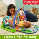 [Fisher Price] Genuine 2016 NEW Toddler GYM Giraffe Kick and Play Piano Gym Baby Mirror fisher price rocker baby mattressplay mat gate