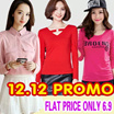 12.12 s$6.9 Flat Price Collection Plus size Promote  S-7XL dress /dresses/tops/blouse/shorts