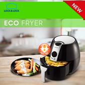 Lock N Lock - New Eco Air Fryer - Bigger and Low Watt - Memasak enggak pakai minyak lagi!