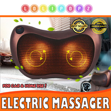 ★FATHER DAY GIFT★ Electric Massager Pillow *PORTABLE* Use in car/ home or office!