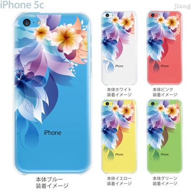 【iPhone5c】【iPhone5cケース】【iPhone5cカバー】【ケース】【カバー】【スマホケース】【クリアケース】【フラワー】【レトロフラワー】 06-ip5c-ca0106の画像
