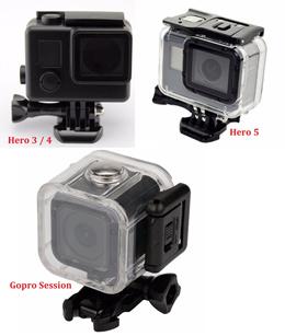 For GoPro Underwater Waterproof Diving Housing Case