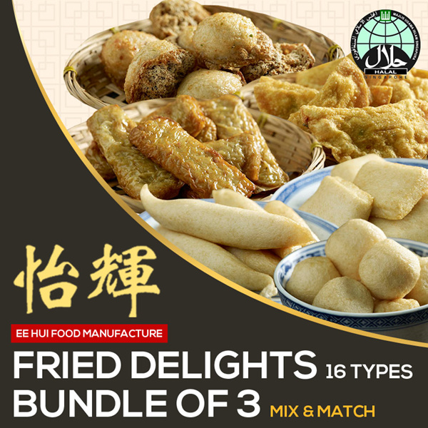 *Best Seller* Fried Delight Mix and Match Selection Deals for only S$9 instead of S$0