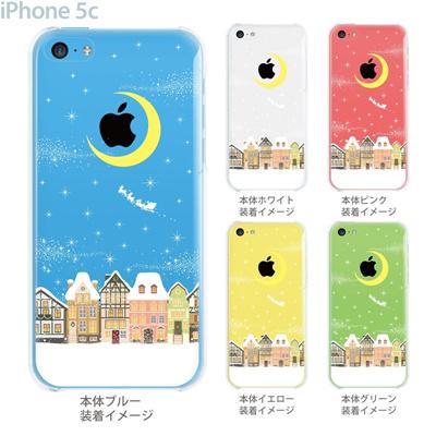 【iPhone5c】【iPhone5c ケース】【iPhone5c カバー】【ケース】【カバー】【スマホケース】【クリアケース】【クリアーアーツ】【サンタクロース】 09-ip5c-th0003の画像